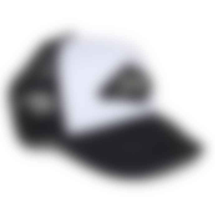 Deus Ex Machina Black White Diamond Trucker Cap