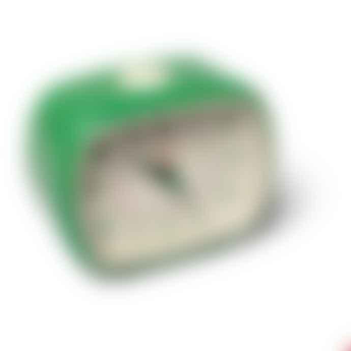 Rex London Green Retro Bakelite Style Alarm Clock
