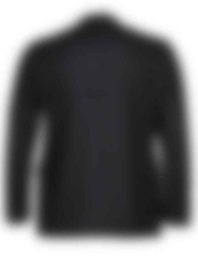 Canali Navy Pale  Blue Kei Check Jacket