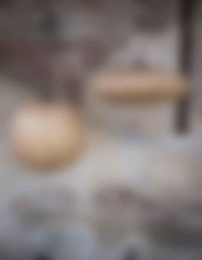 Dutchbone Ash Wood Oval Pendant Shade