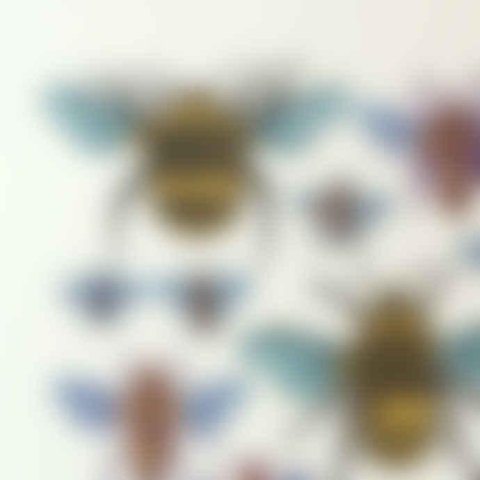 John Dilnot Bees Mini Print