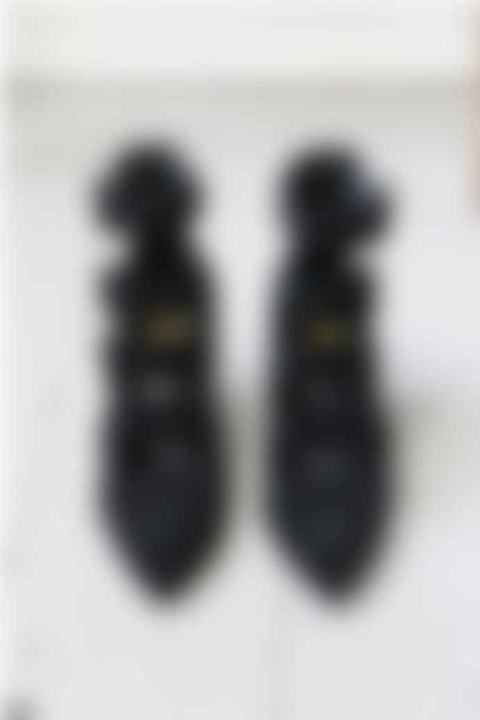 Ash Black Dolby Suede Heels