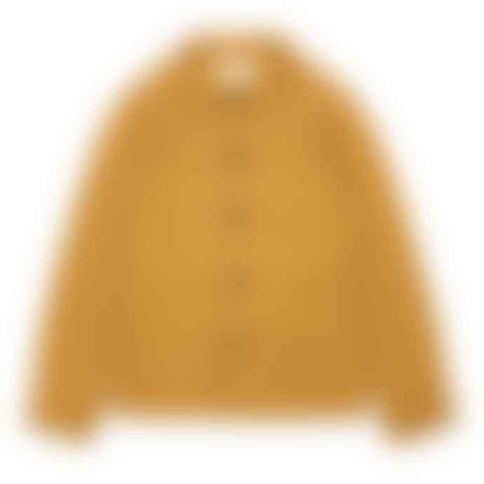 Far Afield Mustard Fleece Station Jacket