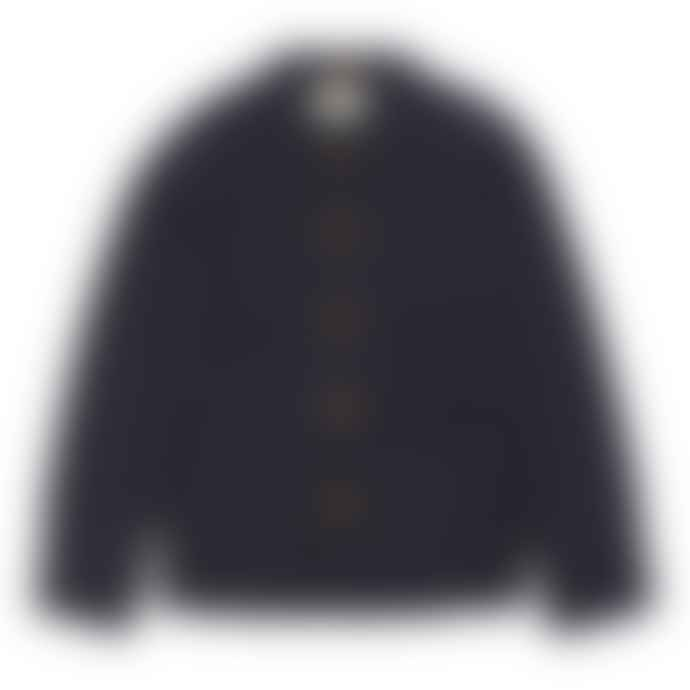 Far Afield Navy Fleece Station Jacket