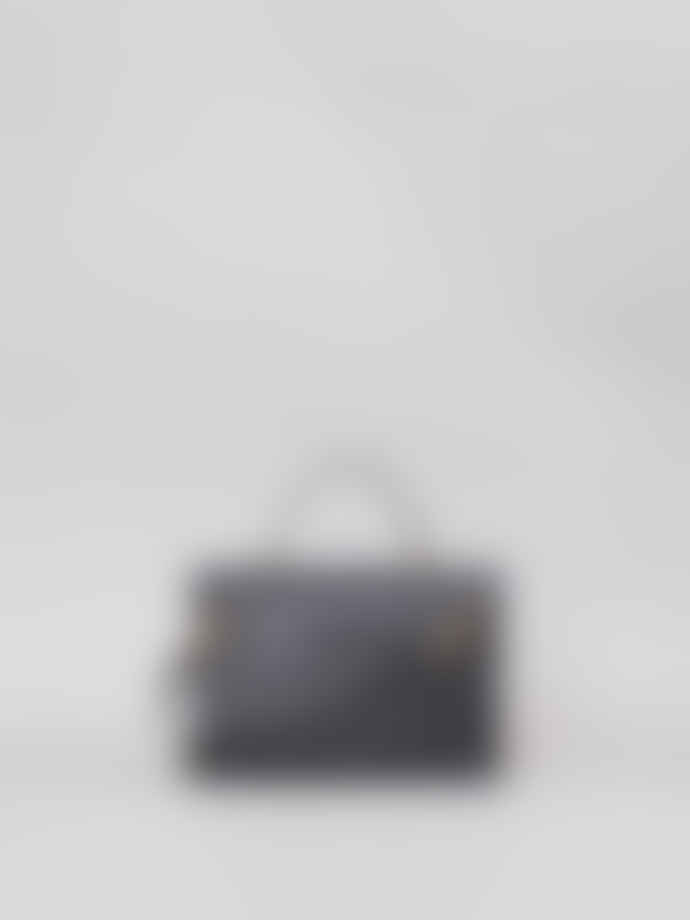 Mimi Berry Black Hebe Crossbody Or Handheld Bag