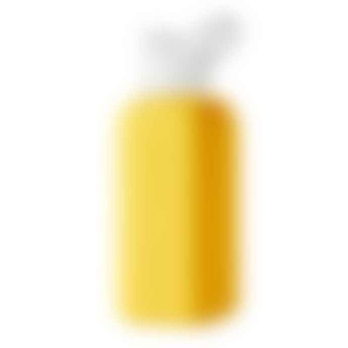 Squireme Yellow Glass Bottle