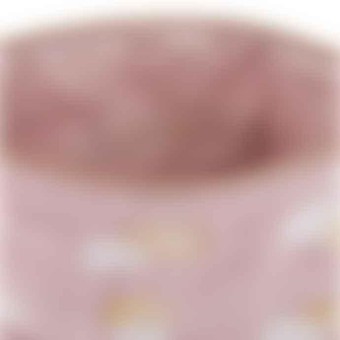 Elizabeth Scarlett Mauve Pineapple Velvet Washbag