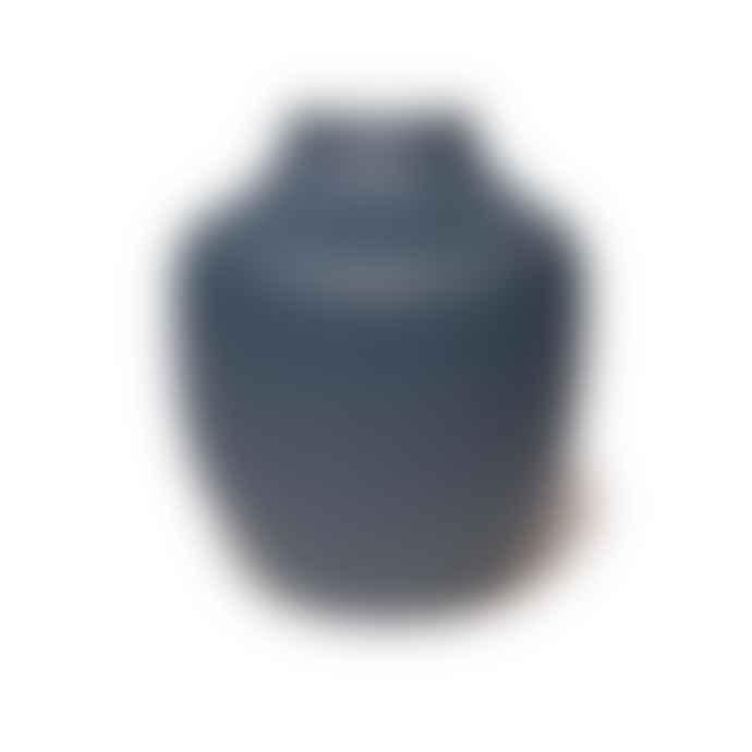 Lindform Blue Kyoto Vase
