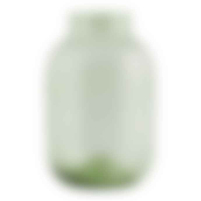 House Doctor Large Pale Green Glass Vase