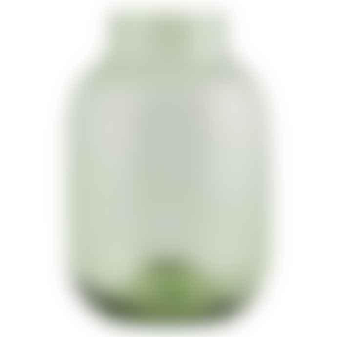 House Doctor Medium Pale Green Glass Vase
