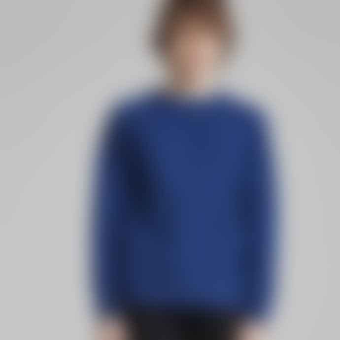 Makia Clothing Blue Nordic Knit Sweater