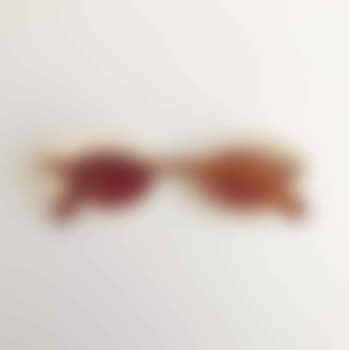 lunettes london Dual Tone Tortoise Shell and Cream French Cat Eye Sunglasses Eyewear