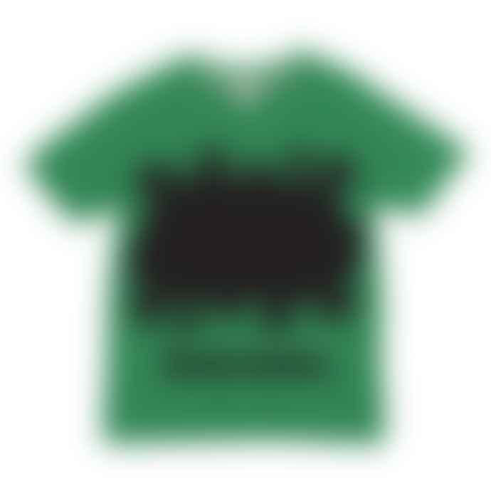 Little Mashers Chalkboard T-Shirt Superpower Design Green