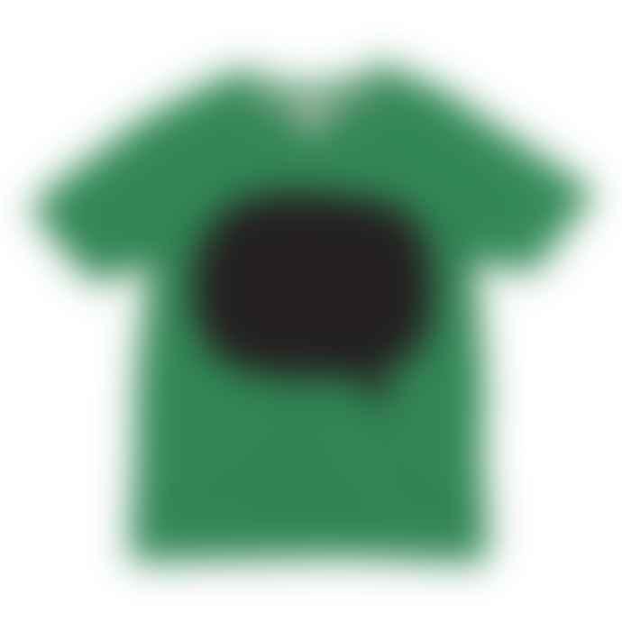Little Mashers Chalkboard T-Shirt Speech Bubble Design Green