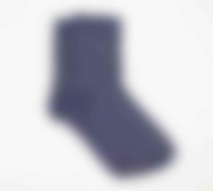 Nooki Design Navy Gold Dottie Sock