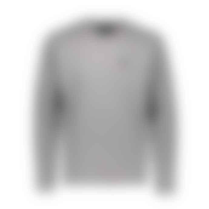 Makia Clothing Grey Verkstad L S Tee