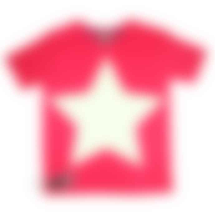 Little Mashers Glow In The Dark Interactive T-Shirt - Star Red Adult