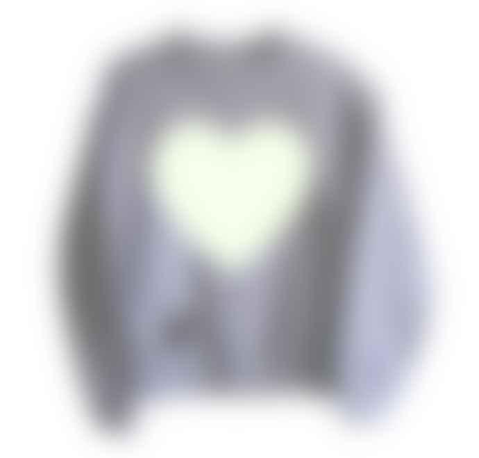 Little Mashers Glow In The Dark Interactive Sweatshirt - Heart Design