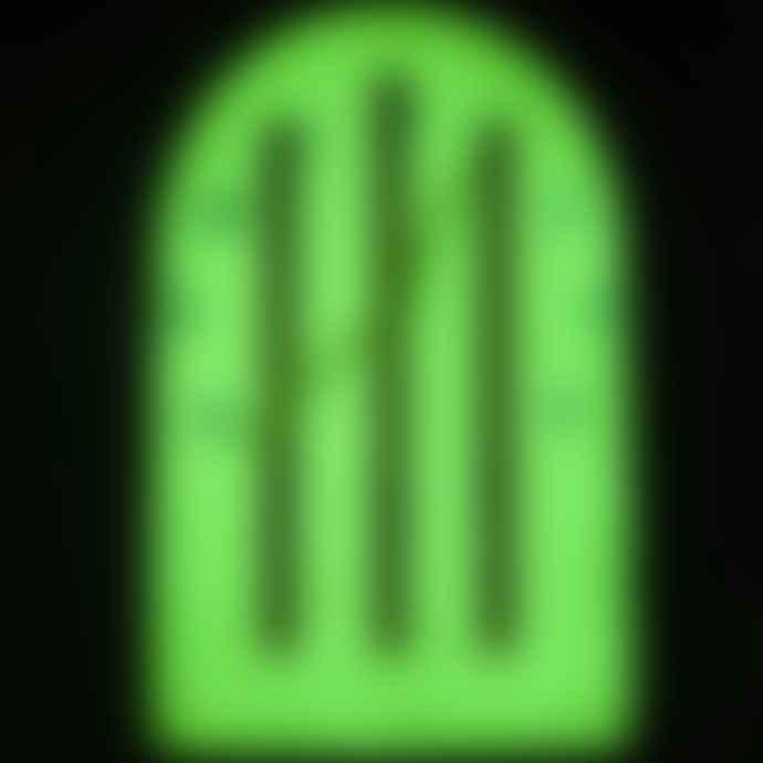 Little Mashers Kids Glow In The Dark Clock - Lolly Design