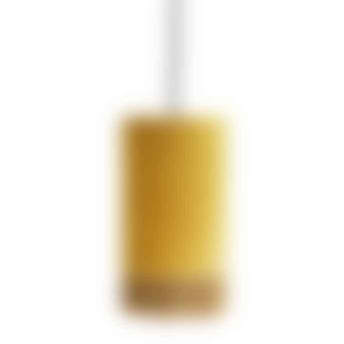 Madam Stoltz Mustard Velvet Ceiling Lamp