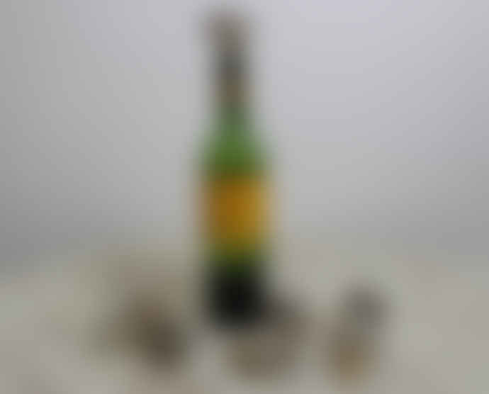 The Grey Works Vintage Silver Rose Wine Stopper
