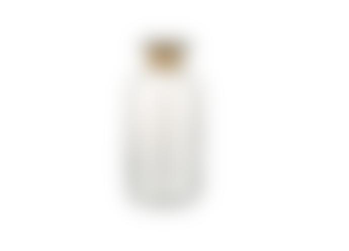 Nkuku Chara Hammered Bottle Vase - Large