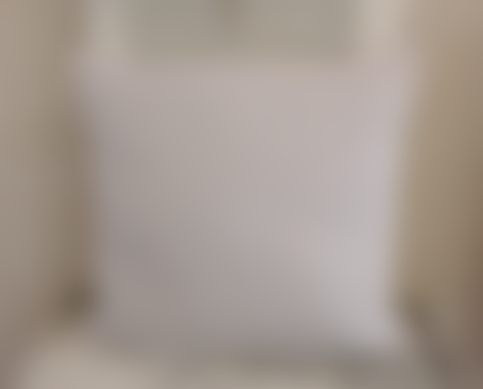 The Grey Works Large  French Linen Cushion In Pale Grey