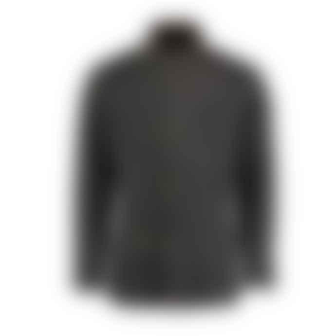 Archie Foal Brown Ansgar Wax Cotton Biker Field Jacket
