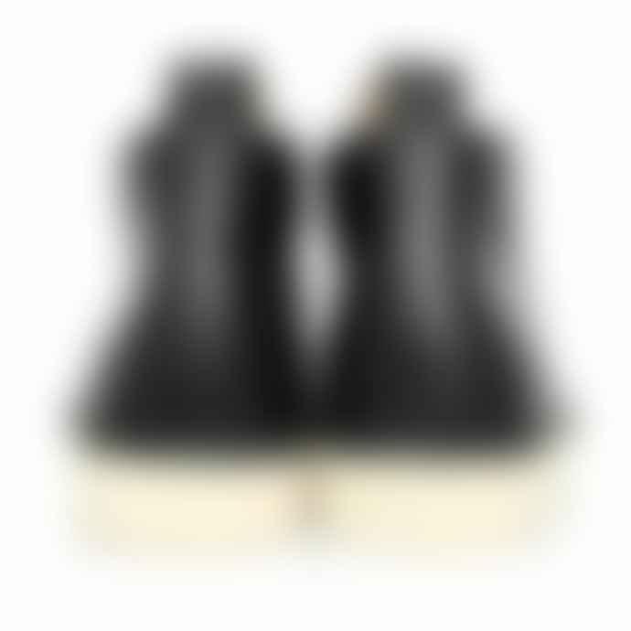 78aa41e3c4f Fracap Womens M 120 Natural Vibram Sole Scarponcino Boot In Black Nero