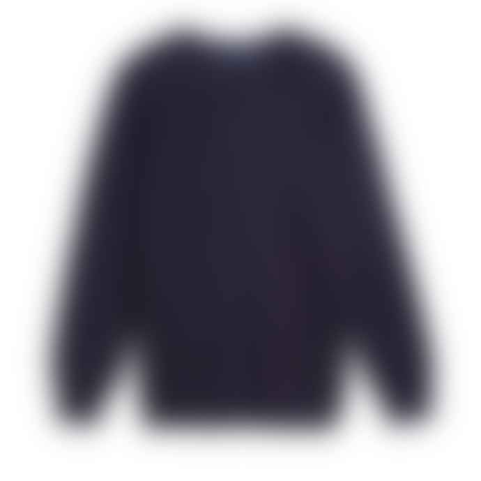 SAINT JAMES Dark Navy Cruiser Sweater