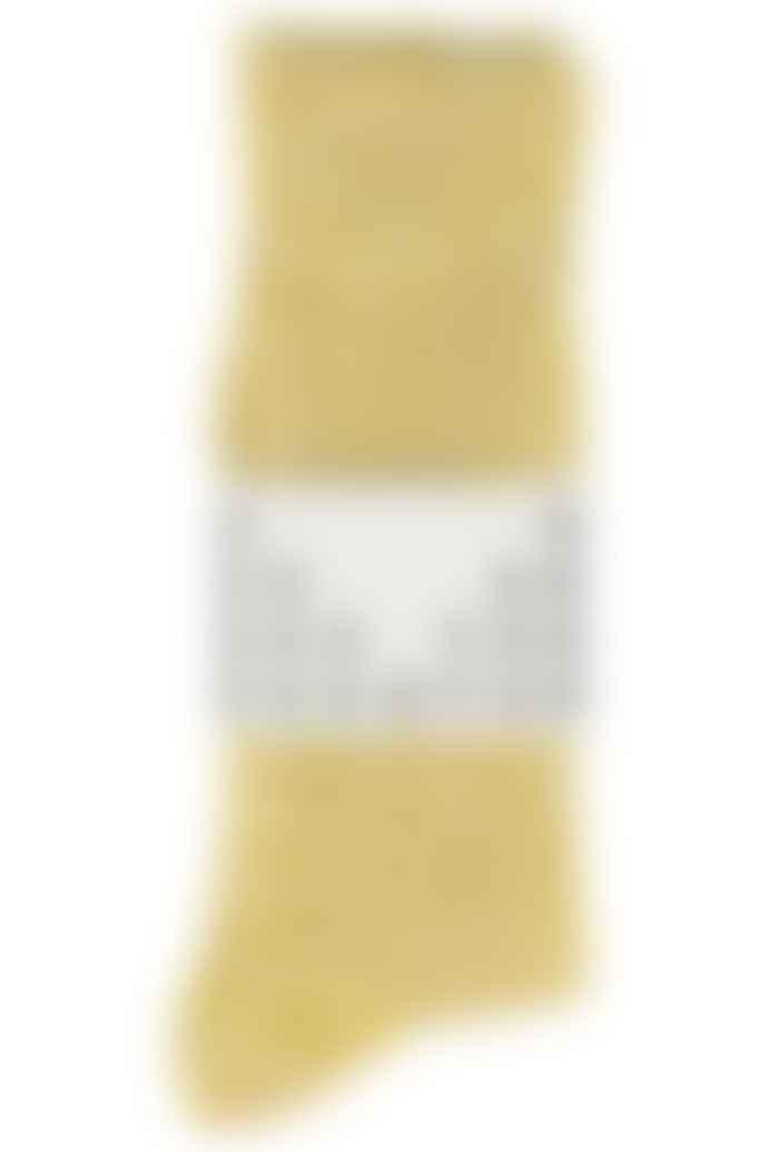 Escuyer Yellow Melange Socks