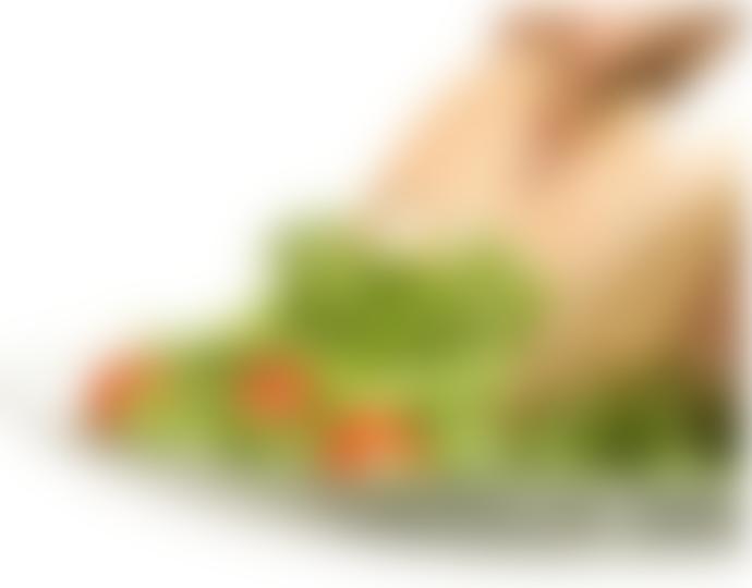 Sagaform Oak Hands Salad Servers
