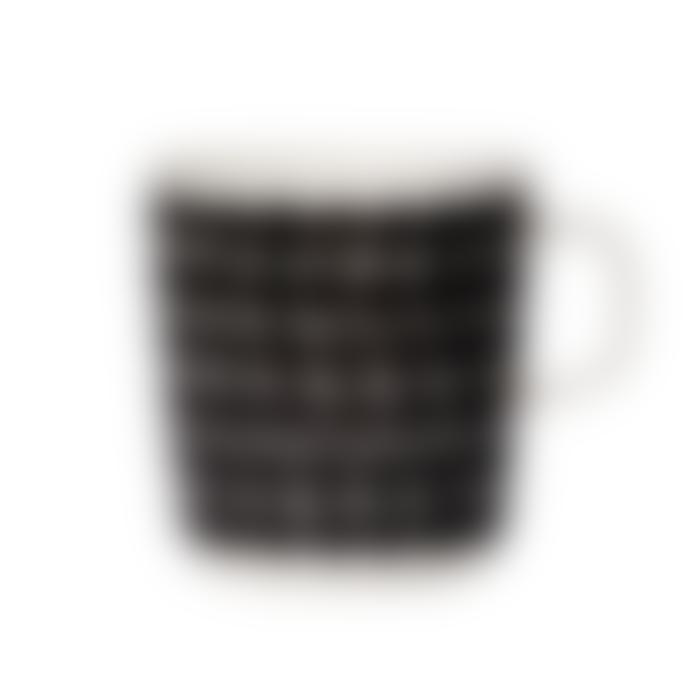 Marimekko  Räsymatto Black Spot Mug
