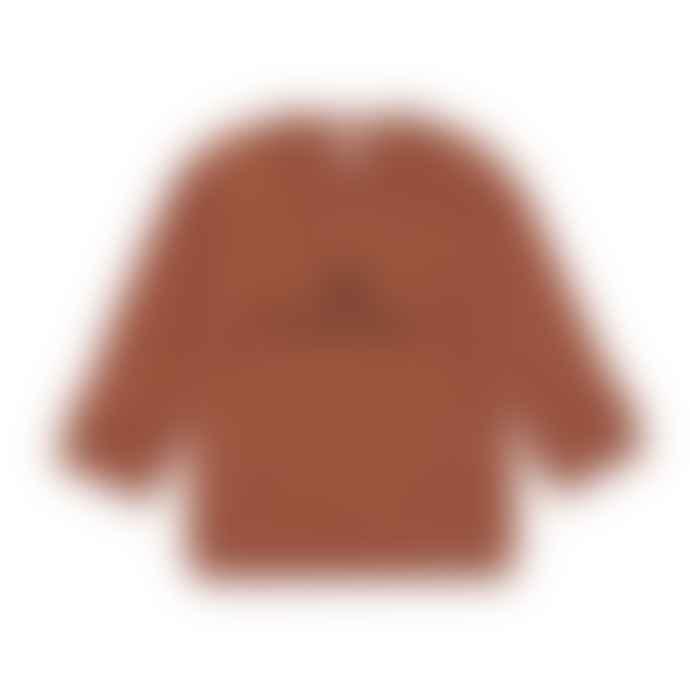 Organic Zoo Rust Love Sweatshirt