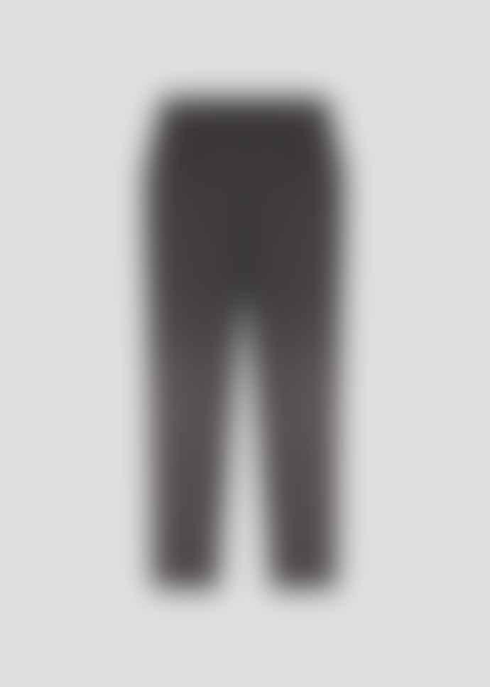 MARIE SIXTINE Charlotte Grey Herringbone Trousers