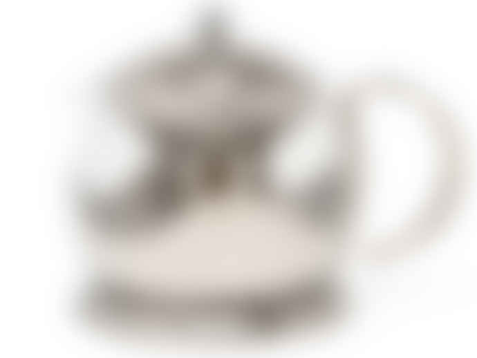 La Cafetiére 1200ml Glass & Stainless Steel Le Teapot