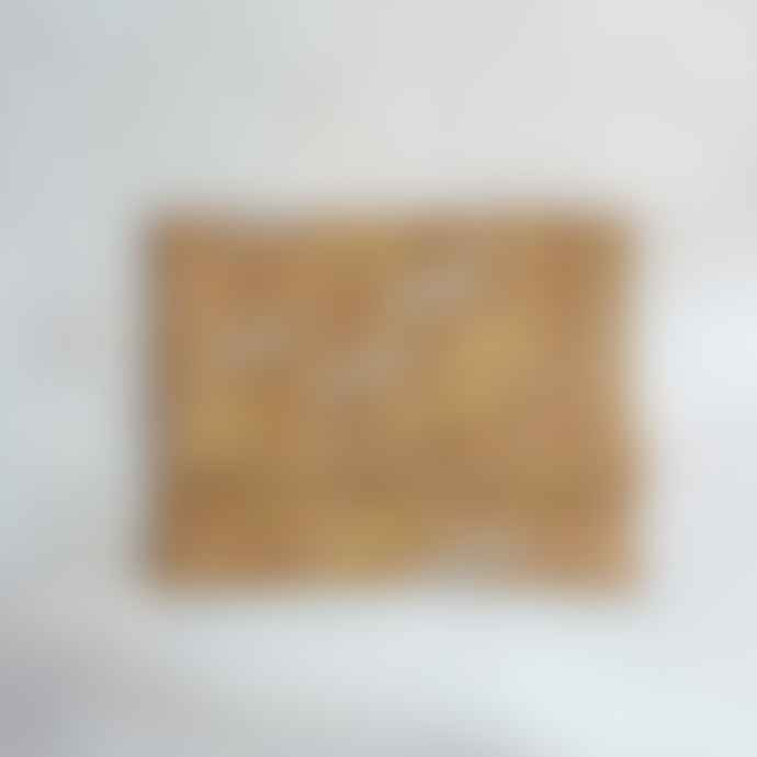 Dassie Artisan Metallic Mahari Clutch Bag