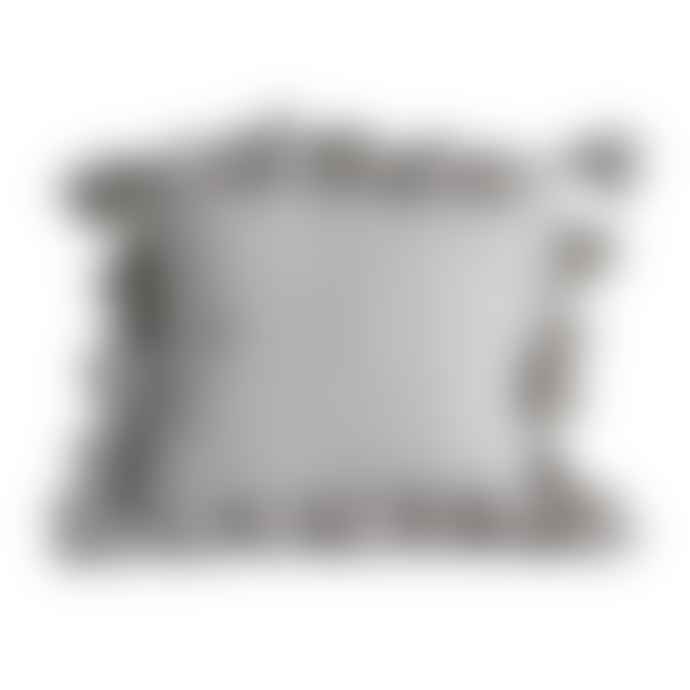 Bloomingville Grey Chateau Cotton Cushion