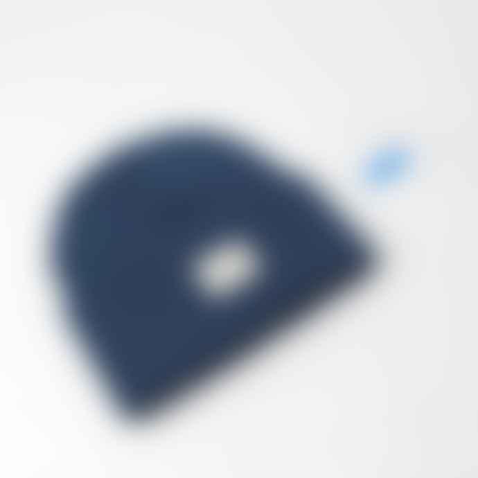 IDIOMA Airforce Blue Classic Beanie Hat