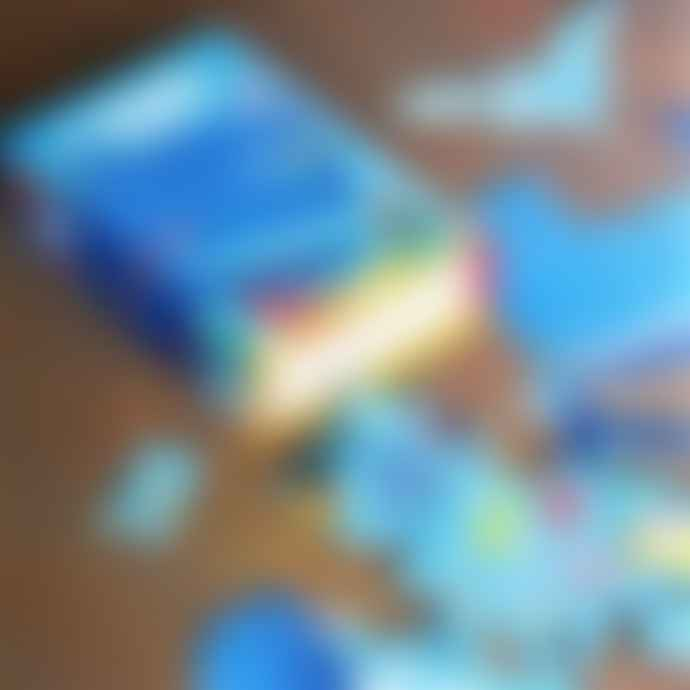 Londji Blue Whale Jigsaw Puzzle