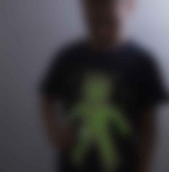 Little Mashers Glow In The Dark Interactive Sweatshirt - Spaceman Design