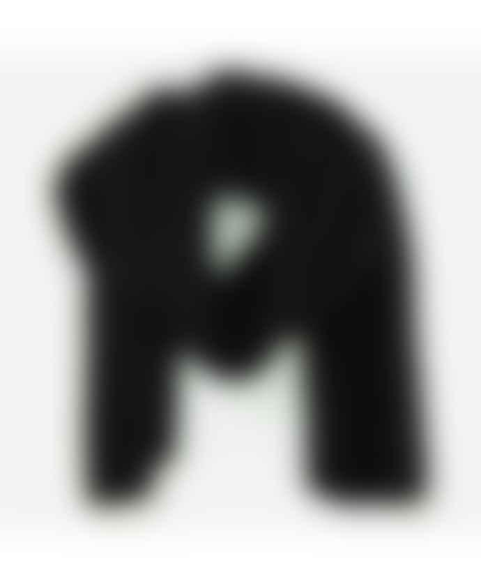 Sluiz Ibiza Black Ares Chunky Knit Scarf