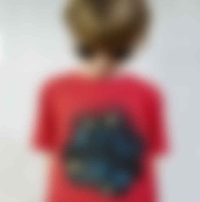Little Mashers Red Today I Am Going To Be Chalkboard T-Shirt
