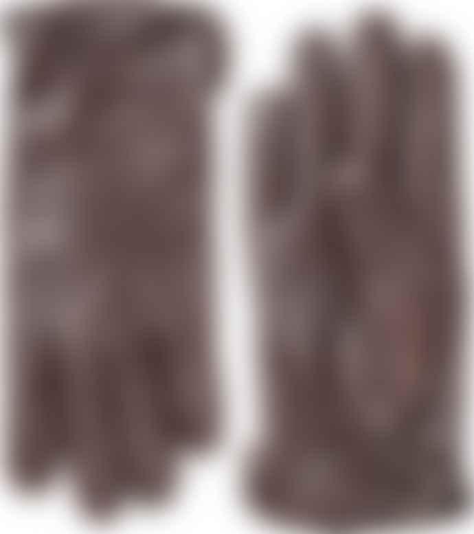 Hestra Dark Brown Andrew Glove