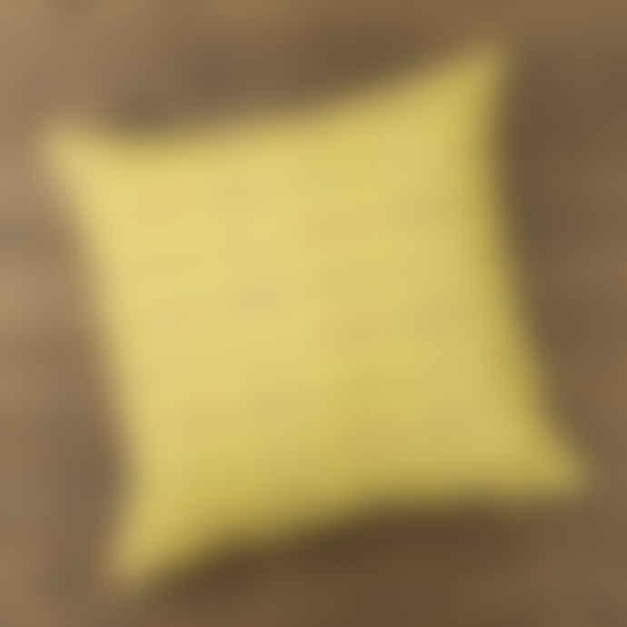Yellowstone Art Boutique Mustard Yellow Bike Cushion