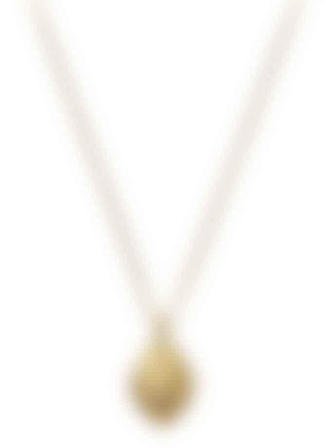 WolfWare Perla By Eenvoud Wolf Head Necklace
