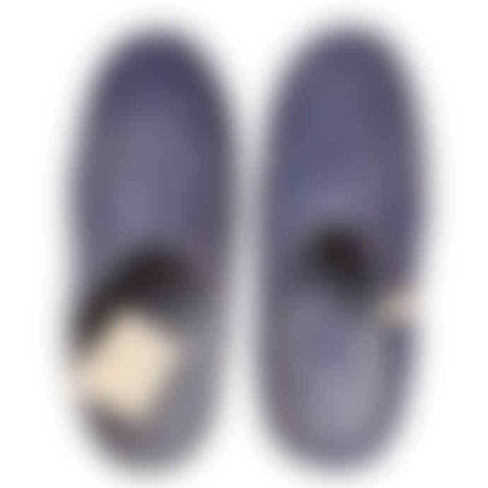 Egos Copenhagen Dark Blue Handmade 100% Wool Felted Slippers
