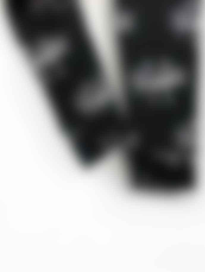 Another Fox Black Monster Print Creep Children's Leggings
