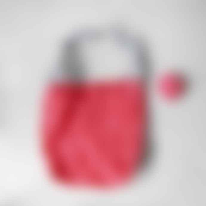 manos Coral Reusable Shopping Bag