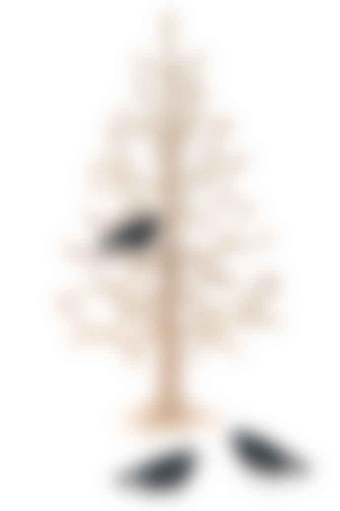 Lovi Set Of 3 Black Minibirds